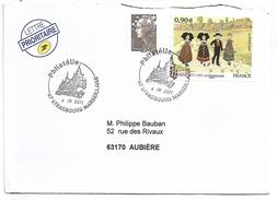 OBLITERATION PHILATELIE STRASBOURG MARSEILLAISE 2011 - Storia Postale