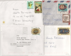 4 COVERS OSTERREICH. - 1971-80 Cartas
