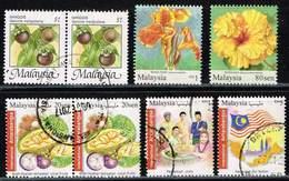 Malaysia,1986/2010/17, Michel# 3331, 1742, 1744 - Malaysia (1964-...)