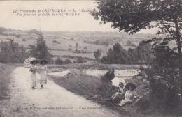 """D7 - 60 - Crevecoeur - Oise - Les Promenades - Le """"Gallet"""" - Vue Prise Sur La Vallée De Crevecoeur - Crevecoeur Le Grand"""