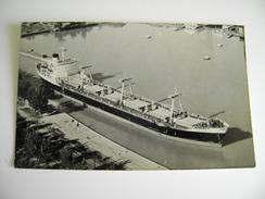NAVE SHIP  MELIDE   FOTO ROBERT W. WALTON  THOROLD ONTARIO CANADA  BARCA NAVE BATTELLO CHIATTA  FOTOGRAFICA - Chiatte, Barconi