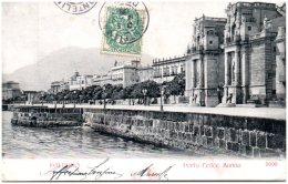 PALERMO - Porta Feleice Marina   (Recto/Verso) - Palermo