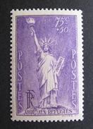 LOT BP/16 - 1936 - STATUE DE LA LIBERTE - N°309 - NEUF ** - Cote : 25,00 € - Unused Stamps