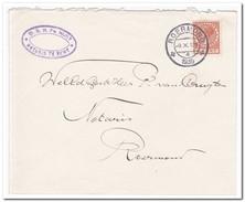 Brief 1935 Naar Roermond, ( FH. Nijst Notaris Te Echt ) - 1891-1948 (Wilhelmine)