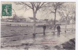Côte-d'Or - Savigny-le-Sec - Les Inondations Du 22 Janvier - France