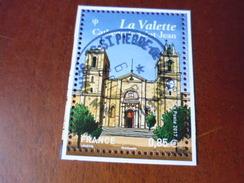 5128 OBLITÉRATION CHOISIE GOMME ORIGINE  LA VALETTE - France