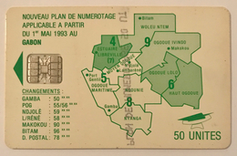 Map 50 Units - Gabon