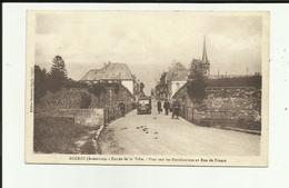 08 - Ardennes - Rocroi - Entrée De La Ville - Pont Sur Les Fortifications - Rue De France - Animée- Camion - - France