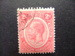 HONDURAS BRITANNIQUE 1927 - 33 Roi GEORGE V Yvert 104 FU - British Honduras (...-1970)