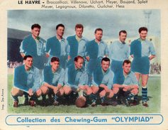 """Le Havre - Collection Des Chewing - Gum """" Olympiad """" - Trading Cards"""