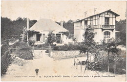 85. ST-JEAN-DE-MONTS. Les Chalets Neufs. A Gauche, Dune-Fleurie. 34 - Saint Jean De Monts