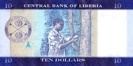 LIBERIA P. NEW  10 D 2016 UNC - Liberia