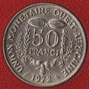 AFRIQUE DE L'OUEST 50 FRANCS 1972  KM# 6 - Monnaies