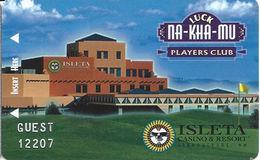 Isleta Casino - Alburqueque, NM - Guest Temp Slot Card - Casino Cards