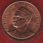 GAMBIA 1 BUTUT 1974 FAO KM# 14  Arachide - Cacahuètes Sir Dawda Kairaba Jawara - Gambia