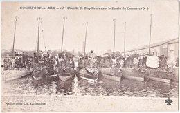 17. ROCHEFORT-SUR-MER. Flotille De Torpilleurs Dans Le Bassin Du Commerce N°3. 195 - Rochefort