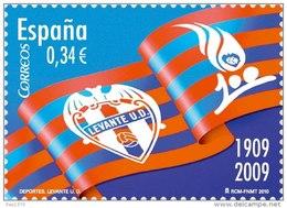 ESPAÑA 2010 - DEPORTES - LEVANTE U.D.- FUTBOL- 100 ANIVERSARIO - Edifil Nº 4561 - 1931-Oggi: 2. Rep. - ... Juan Carlos I