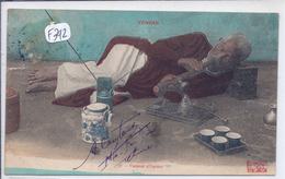TONKIN--FUMEUR D OPIUM - Cartes Postales