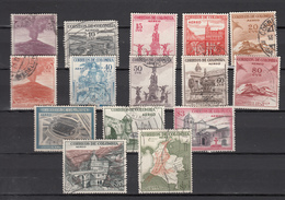 Colombia 1954,15V,set,countrymotives,used/gestempeld(C248) - Colombia
