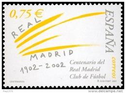 ESPAÑA 2002 - CENTENARIO DEL REAL MADRID - EDIFIL Nº 3880 - 1931-Oggi: 2. Rep. - ... Juan Carlos I