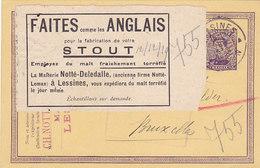 Malterie Notté-Deledalle, Lessines, Stout, 1919, Journal Du Brasseur (vente Unique) - Artisanat