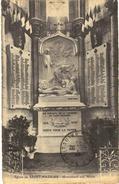 CPA N°35 - EGLISE DE SAINT NAZAIRE - MONUMENT AUX MORTS - 1914-1918 - MILITARIA - Saint Nazaire