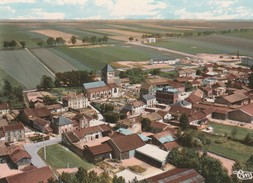 CP  51  COURTISOLS -ST  MARTIN  Ac  45-31 A  Vue  Aèrienne  -village 1320 Habitants - Courtisols