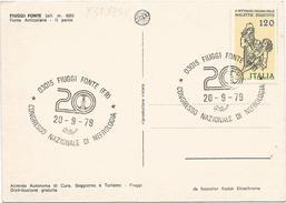 Y3598 Fiuggi (Frosinone) - Congresso Nazionale Di Nefrologia 1979 - Fonte Anticolana - Annullo Timbro Filatelico - Italia