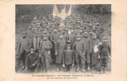 PONT L'ABBE -  318 Eme Regiment D'infanterie De Reserve - Gas Des Environs De Pont L'abbé -Campagne 1914/1915( RARE ) - Pont L'Abbe