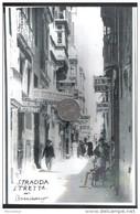 MALTA - PHOTO OF STRADDA STRETTA IN VALETTA  1930s - Repro's