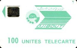 DJIBOUTI : DJI11 100 U MORENOlogo, Rev.SI-5SB (7) USED - Djibouti