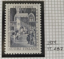 PAINTINGS COLLECTION DG - FINLAND 1959 Yv. 482 MNH Stamp - 150th Anniversary Of The Inauguration Of The Diet At Porvoo - Finland