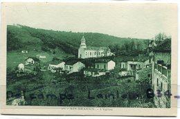 - 11 - AIN-DRAHAM -  Le Village, L'Eglise - écrite, Voyagé Dans Enveloppe, TTBE, Scans. - Algerije
