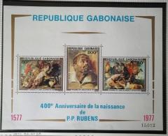 PAINTINGS COLLECTION DG - GABON 1977 Yv BF28 MNH Block S/S - 400th Anniversary Of The Birth Of Rubens - Gabon