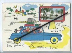 Carte Grand Modele - Bien Arrivés  à Liancourt - Liancourt