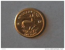 MINI OR GOLD Afrique Du Sud South Africa Krugerrand 1978 - Afrique Du Sud