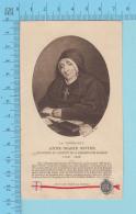 Image Reliquaire  - Relique Des La Vénérable Anne-Marie Rivier, De La Présentation De Marie - Relic  Reliquia - 3 Scans - Religion & Esotérisme