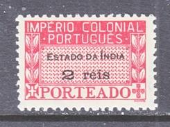 PORTUGUESE  INDIA  J 37  * - Portuguese India