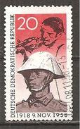 *DDR 1958 // Michel 662 O // Novemberrevolution - Usati
