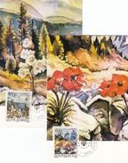 YUGOSLAVIA Maximum Card 2284-2285 - Umweltschutz Und Klima