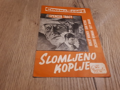 Old Cinema Advertisement - Broken Lance - Cinema Advertisement