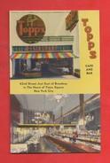 "United States Etats Unis New York City Time Square The ""new Topps"" Restaurant Bar Café ( Format 9x14) - Time Square"