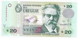 Uruguay 20 Pesos 2011 - UNC - Uruguay