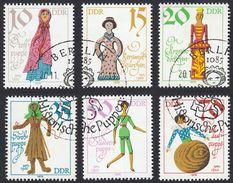 GERMANIA DDR - 1979 - Serie Completa Yvert 2135/2140 Obliterata. Bambole Antiche. - [6] Repubblica Democratica