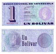 Venezuela 1 Bolivar 1989 Pick 68 UNC - Venezuela