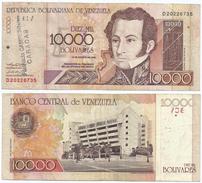 Venezuela 10.000 Bolivares 2002 Pick 85.c - Venezuela