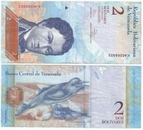 Venezuela 2 Bolivares 27-12-2012 Pick 88.e - Venezuela