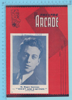 "Roger Garceau Montreal Quebec - Théatre Arcade   Programme October 1946 - 8 Pages "" Dans Teddy And Partner"" 3 Scans - Programmes"