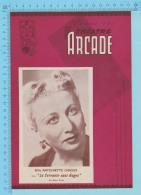 Comedienne Mlle Antoinette Giroux Montreal Quebec - Theatre Arcade - La Servante Sans Gages  Fevrier 1945 - 8 Pages  3 S - Programmes