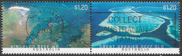 Australia 2013 Coral Reefs 2x$1.20 Se-tenant Good/fine Used [34/29063/ND] - 2010-... Elizabeth II